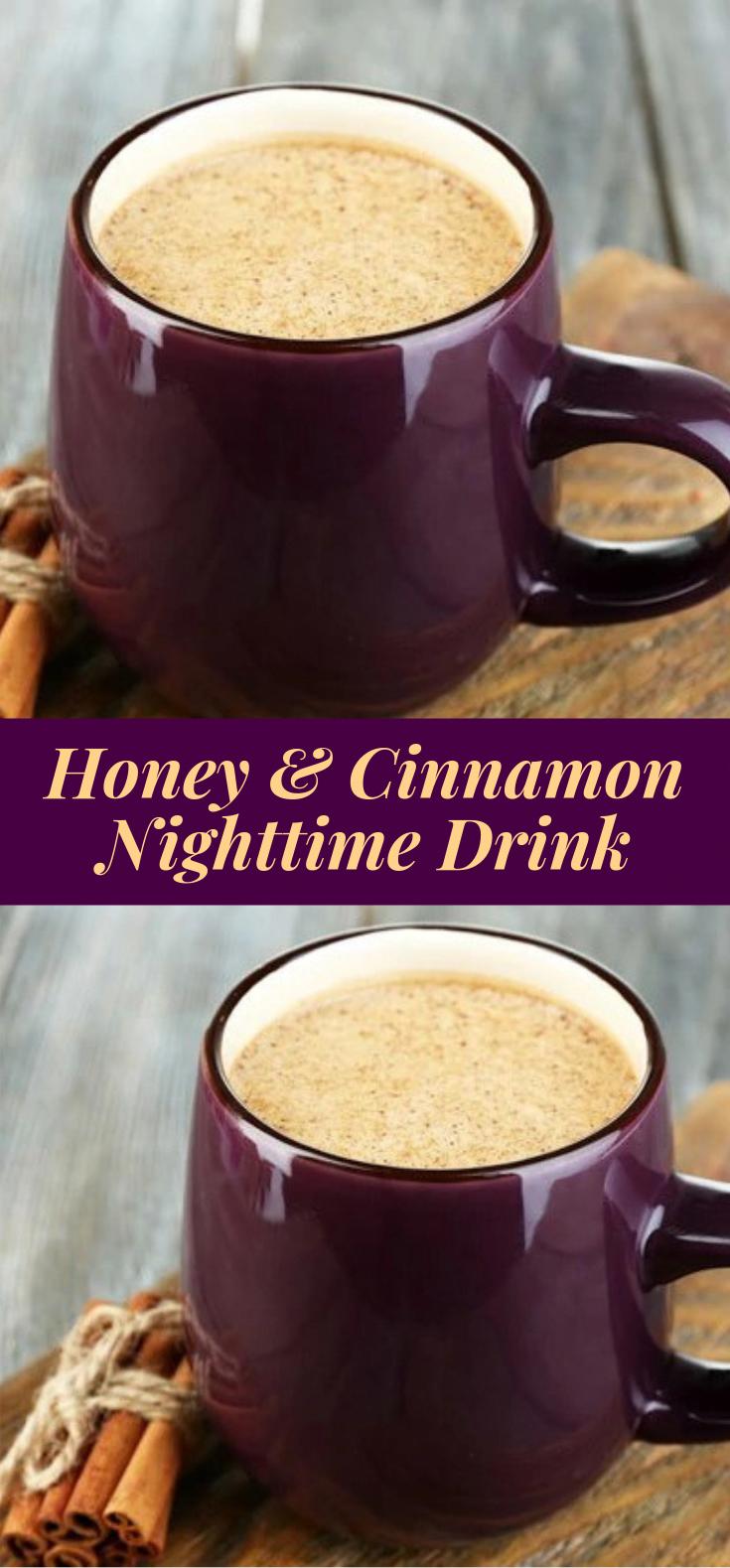 Honey and Cinnamon Nighttime Drink