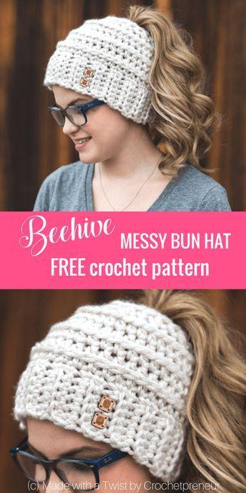 The Perfect Bun Hat for the New Year! | Für meine Tochter, Meine ...