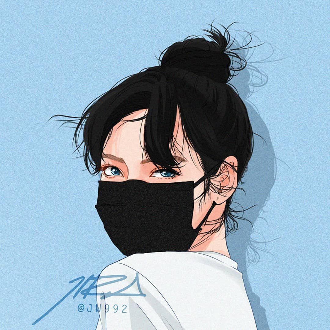 90 Wallpaper Animasi Gambar Kartun Perempuan Cantik Cikimm Com