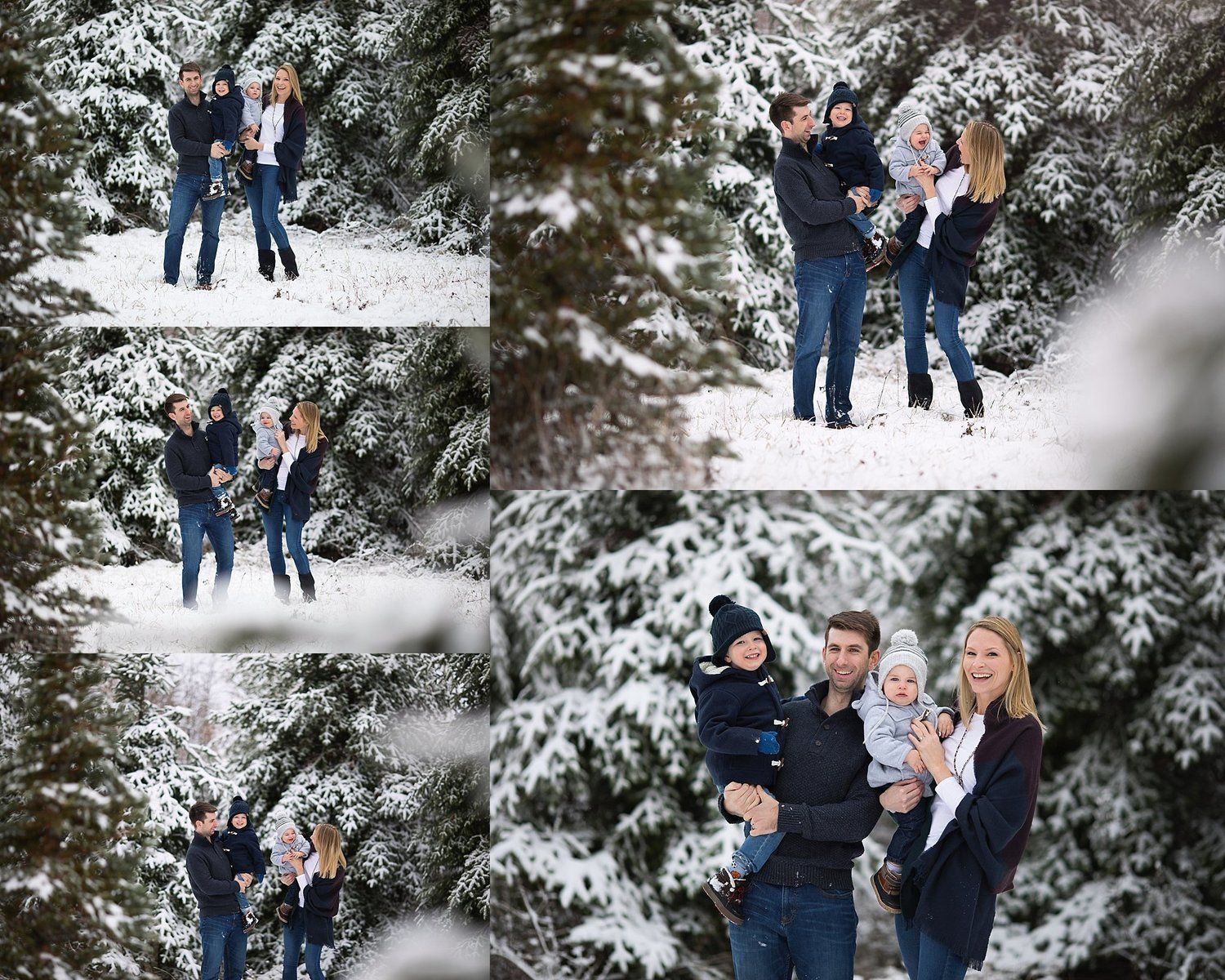 Holiday Traditions Limited Edition Portrait Session Ottawa South Michelle Ma Belle Photography Ottawa Family Photographer Christmas Tree Farm Photos Winter Pictures Family Photos