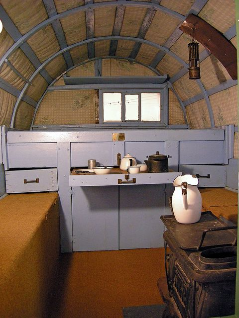Sheep Herders Wagon Love The Pot On The Stove And The Ceiling Yup Tiny House Living Tiny Mobile House Home