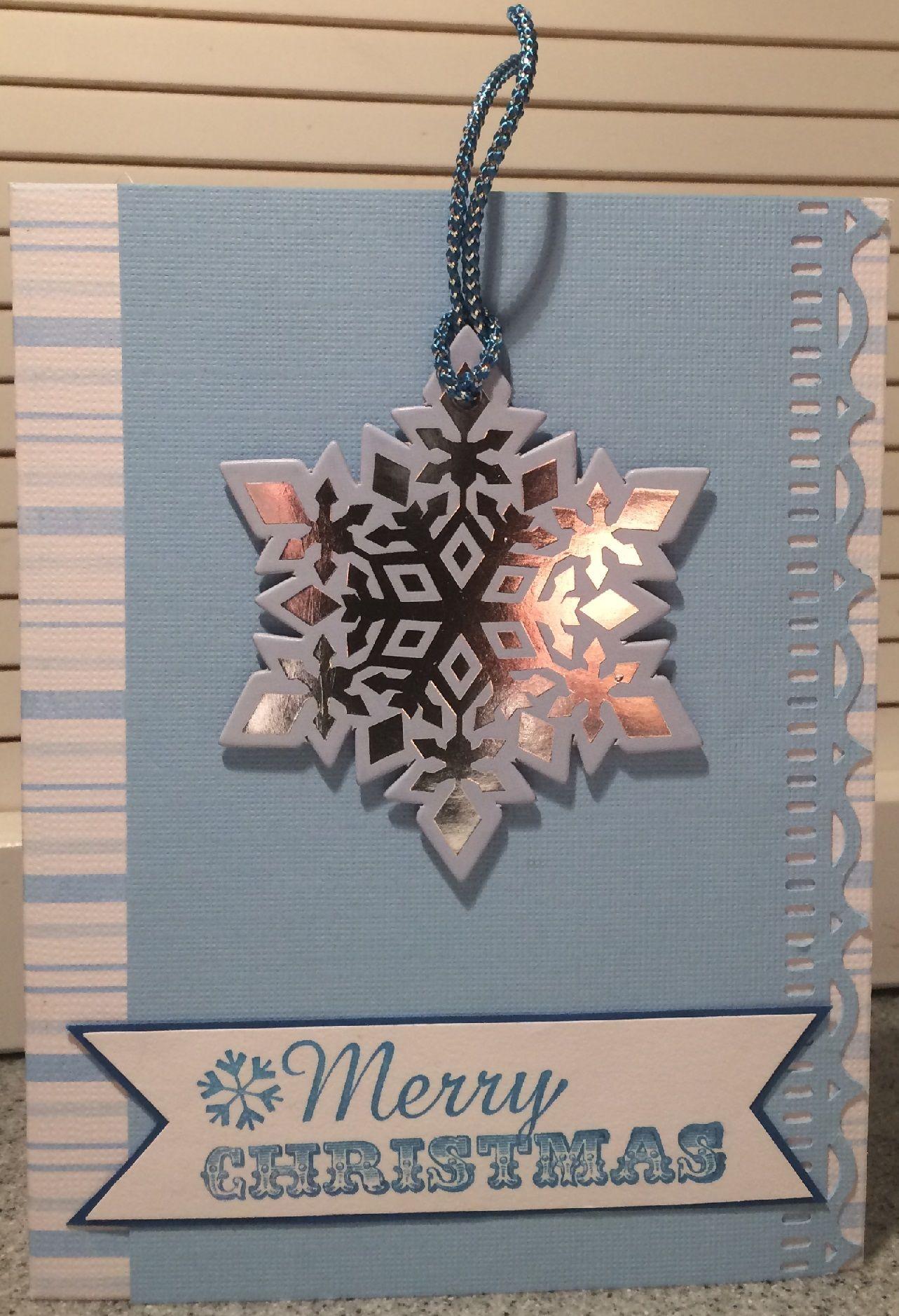 Snowflake Christmas - Scrapbook.com
