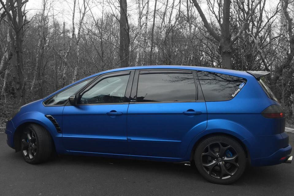 Ford S Max In Blue Matte Color Autos