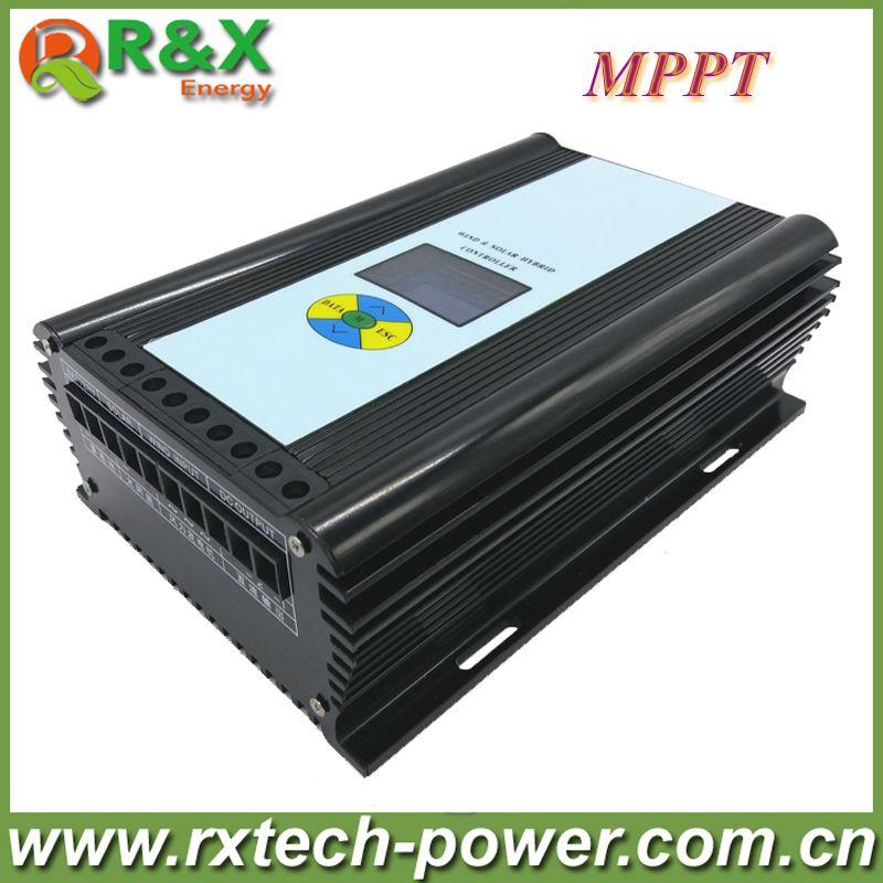 600W wind solar hybrid controller MPPT charging mode 12V/24V