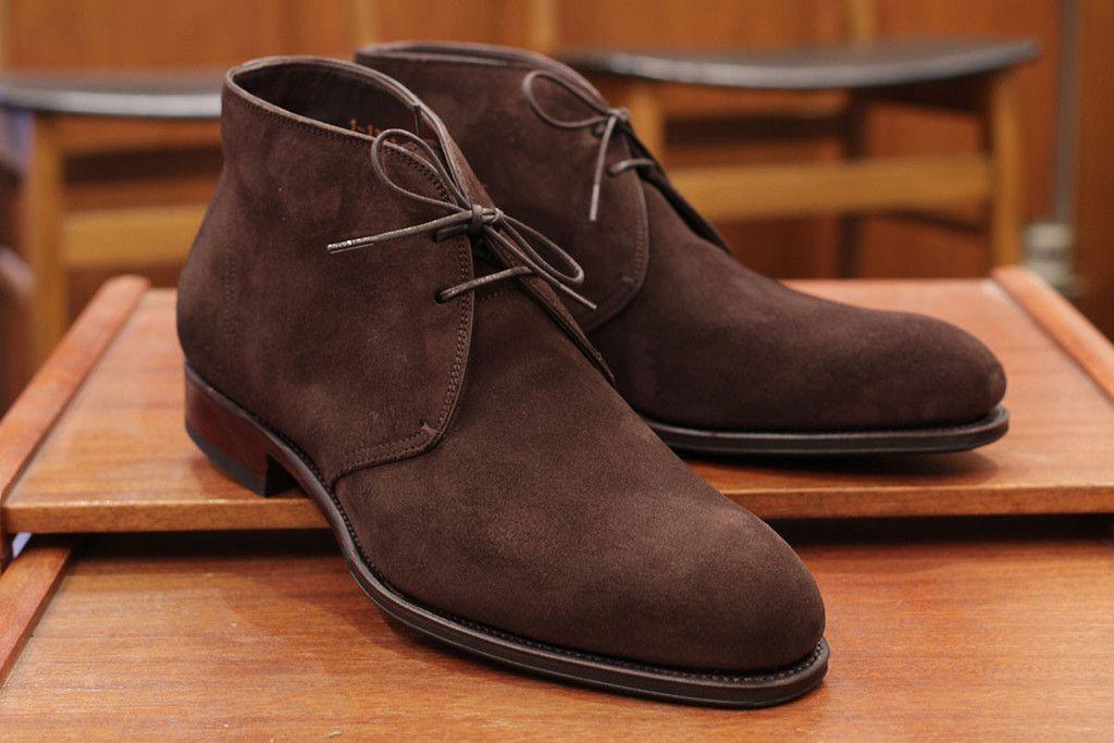 Carmina: Brown suede | Chukka boots