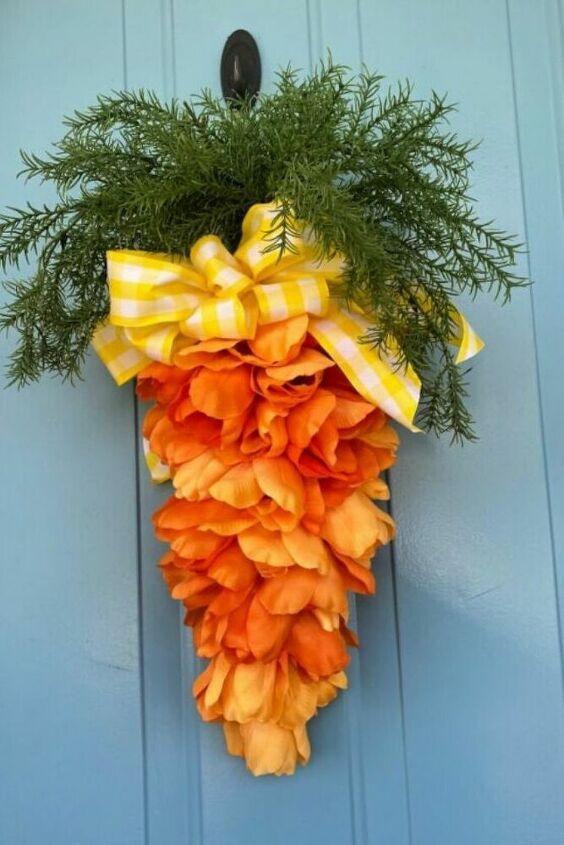 Photo of DIY Dollar Store Easter Wreath Idea for Front Door