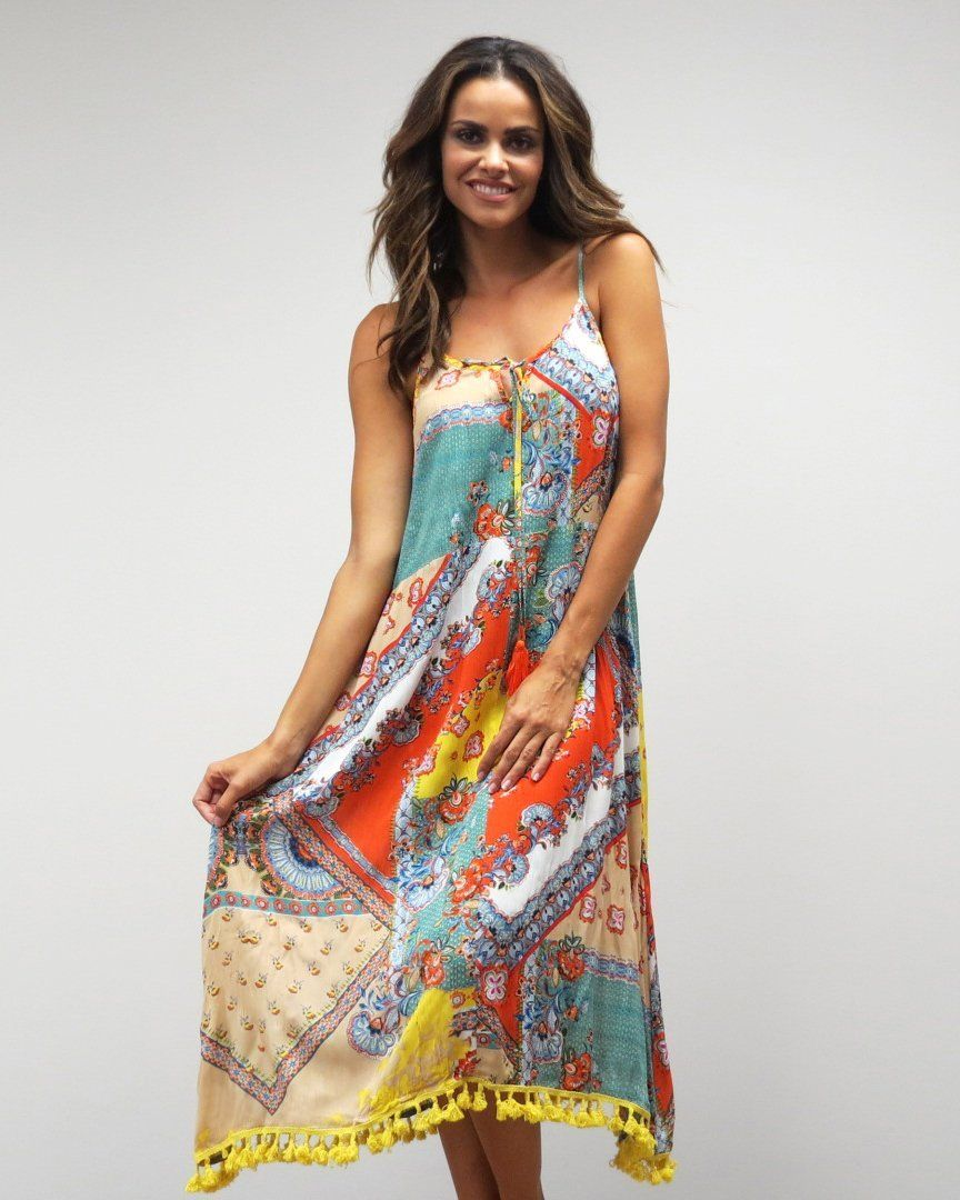 9a692ab9955c7 Love Kyla FREJA Dress in Boho Paisley Print in 2019 | Products ...