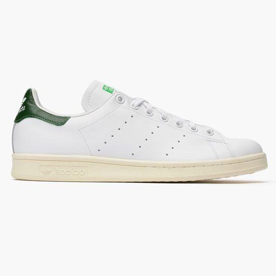 Adidas Stan Smith White/Green Vintage