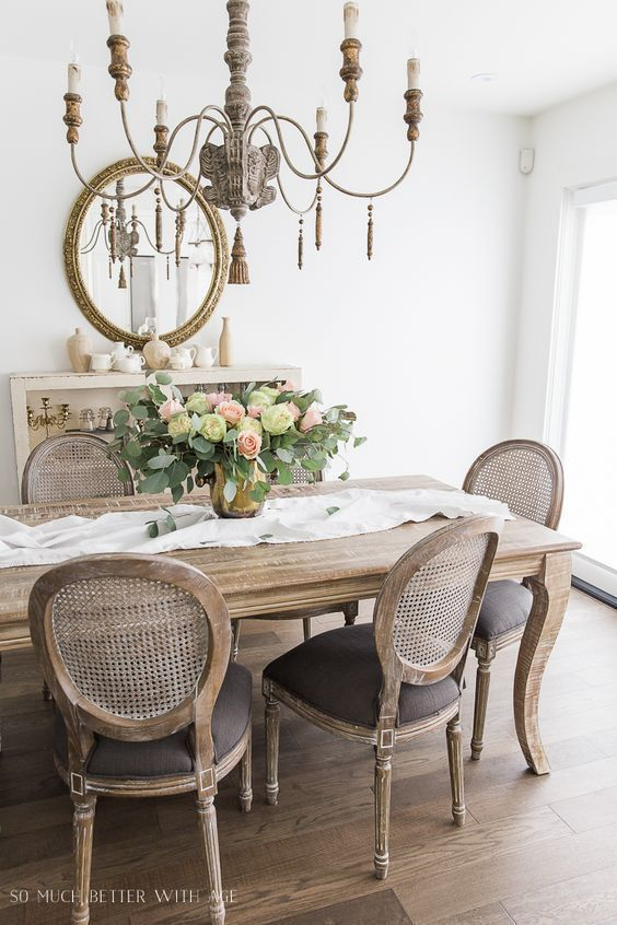 Canadian Spring Tour - Kitchen and Dining Room | So Much Better With Age