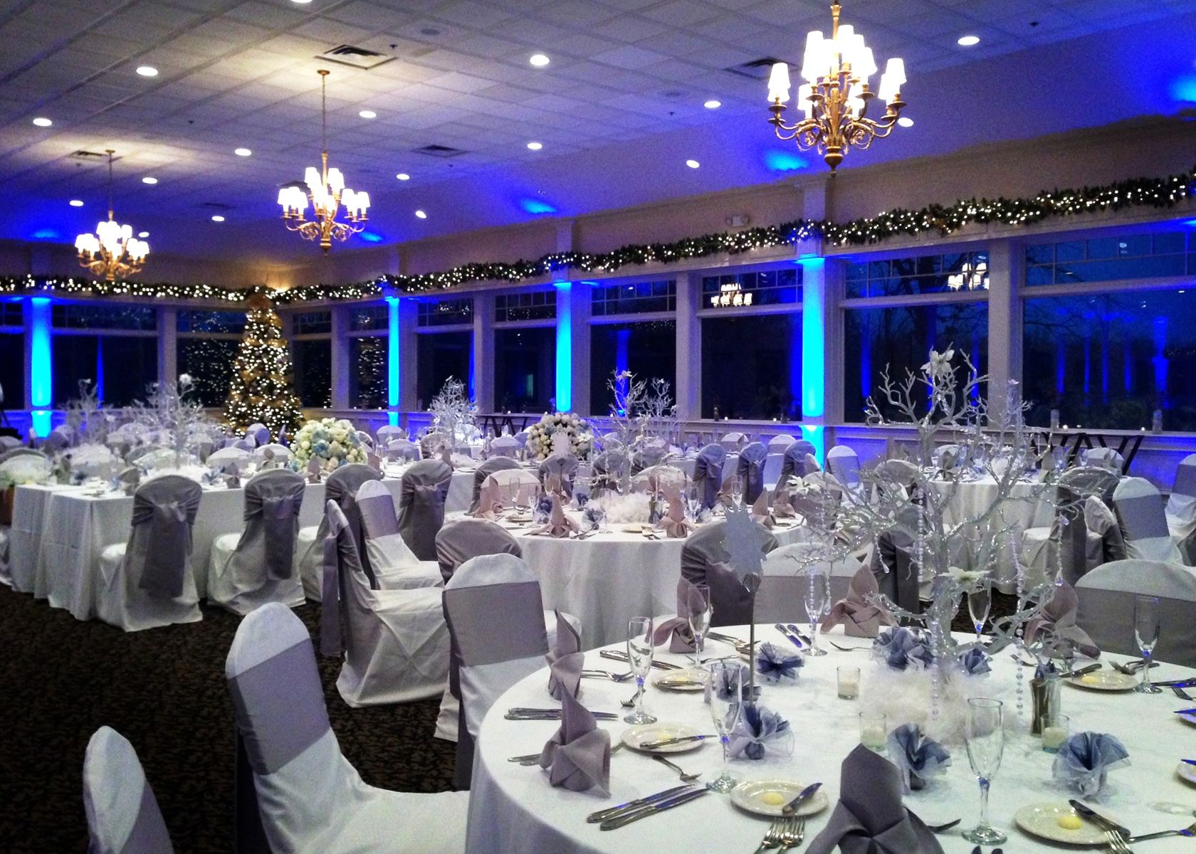 Beautiful Winter Wedding Venue