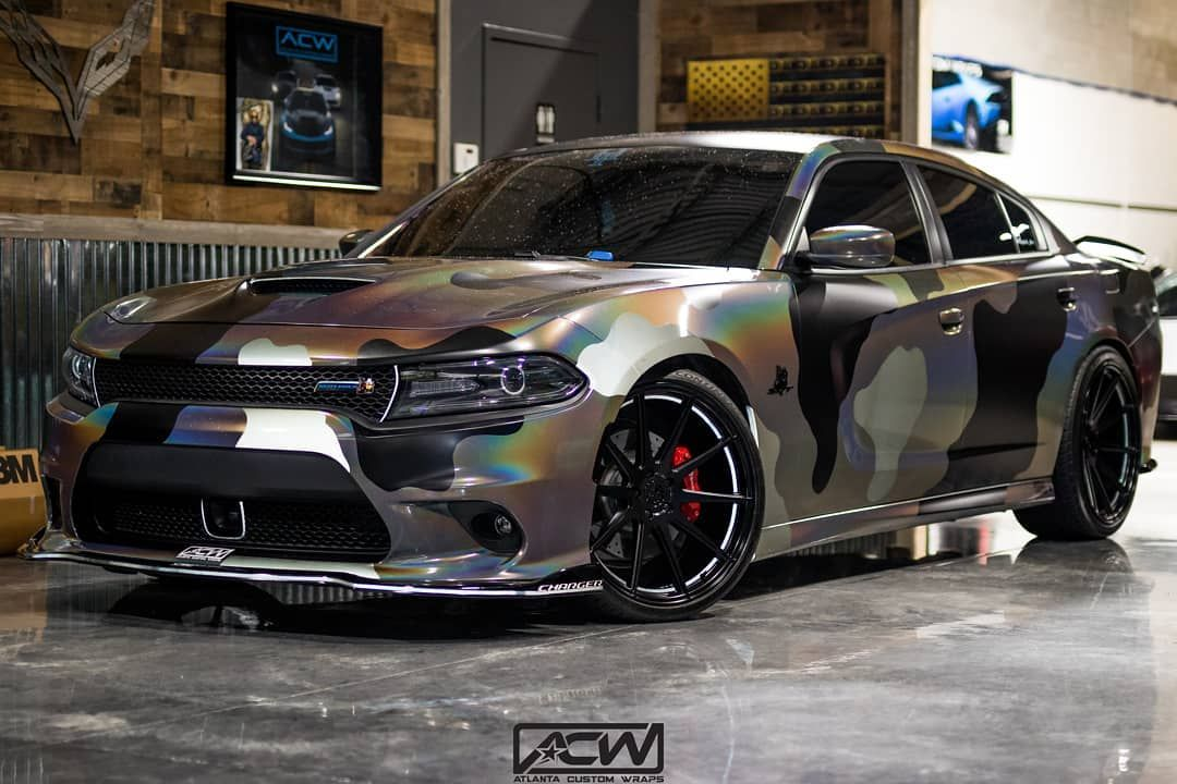 Had To Kill The Game Again 1 Of 1 Copy Cats Cant Copy Satin Black And Reflective Black Thanks To Atlantacustomw Dodge Charger Hellcat Camo Car Dodge Charger