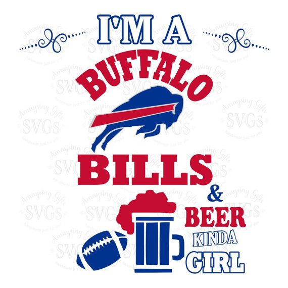 Svg Bills And Beer Kinda Girl Tshirt Design Football Buffalo Bills Football Tshirt Design Dxf Buffalo Bills Football Buffalo Bills Logo Bills Logo