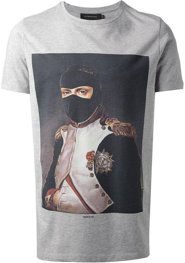 Les Benjamins 'Napoleon' T-shirt on shopstyle.co.uk