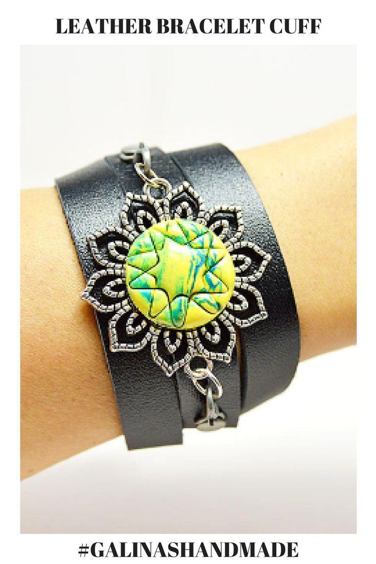 Leather bracelets for women boho wrap bracelet women leather