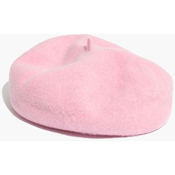 202573a8f49e1 MADEWELL Brixton® Audrey Beret ( 42) ❤ liked on Polyvore featuring  accessories