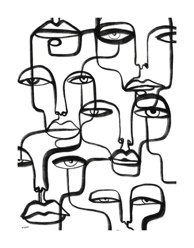 connected by Shira Barzilay - Koketit on Artfully Walls