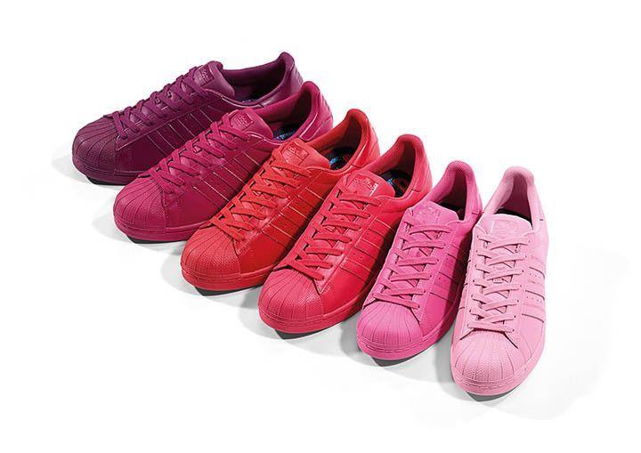 adidas pharrell rosas
