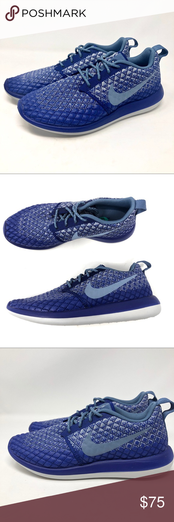 low priced 0c8e5 89a2d Nike Roshe Two Flyknit 365 Running Shoe 861706 400 New without box Nike  Roshe Two Flyknit 365 Women s Sz 7.5 Running Shoes Purple Style    861706-400  Nike ...