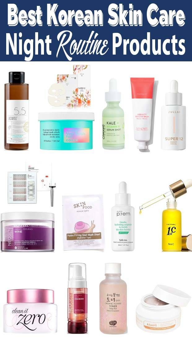 Korean Morning Skincare Routine For Oily Skin In 2020 Korean Skincare Routine Night Skin Care Routine Skin Care Routine