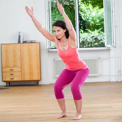 Effektives Training fürs Knie