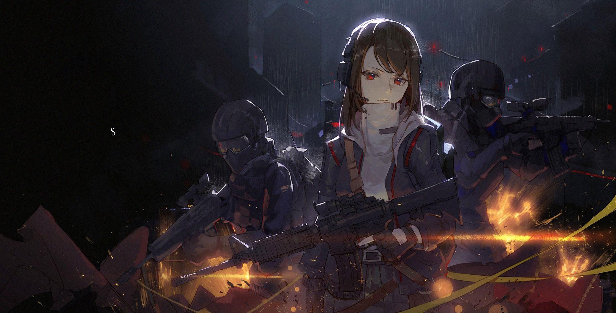 Pin de 악의라 en ㅇㅋ Guerrera anime, Ilustraciones, Cyberpunk