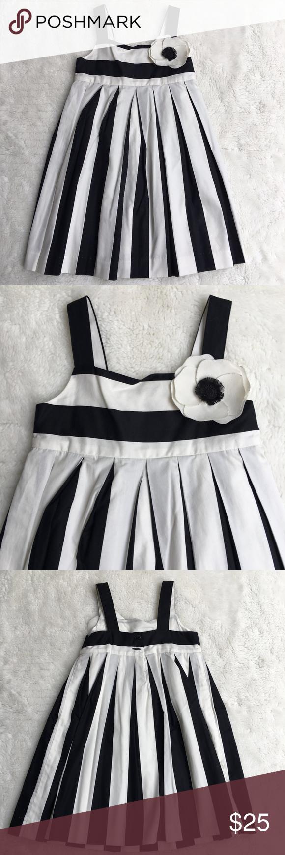 Janie Jack Black White Summer Dress Size 18 24 M White Dress Summer Summer Dresses Size 18 Dress [ 1740 x 580 Pixel ]