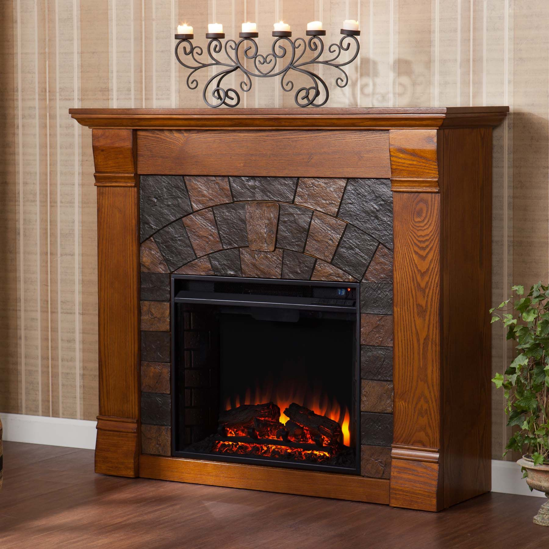 Elegantly Crafted Rustic Electric Fireplaces Oak Electric Fireplace Electric Fireplace Corner Electric Fireplace