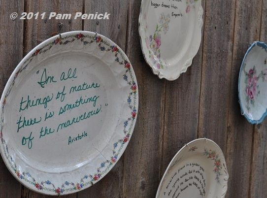 Repurposed China Dishes | Repurpose an old fashioned china plate with a favorite quote or Bible & Repurposed China Dishes | Repurpose an old fashioned china plate ...