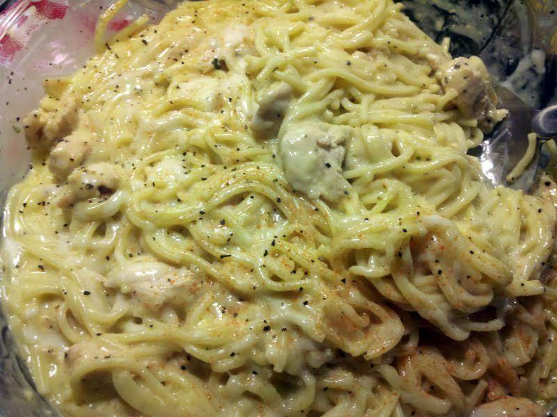"""Chicken Spaghetti - """"Heavenly"""" @allthecooks #recipe"""