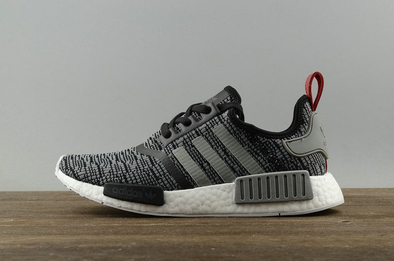 cheaper 64cc0 b7c2d 2018 How To Buy Boost Adidas NMD R1 Glitch Camo Core Black Solid Grey  BB2884 Shoe