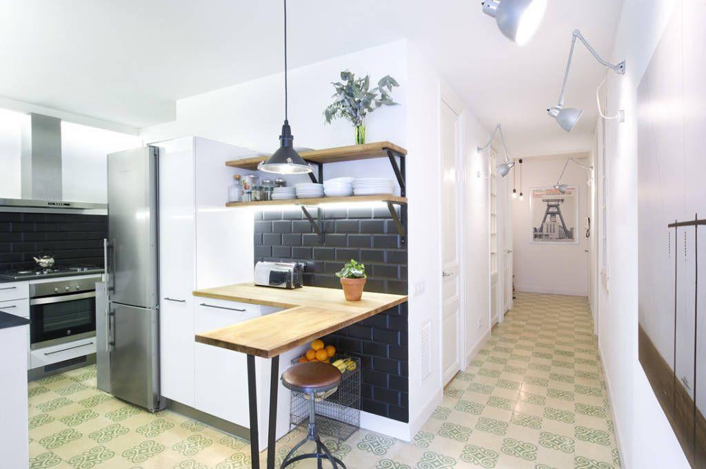 7 cucine piccole semplici e economiche ma per nulla for Appartamenti decor