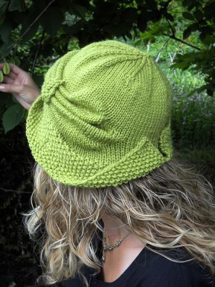 Gorro sombrero | Dos agujas: gorros para dama | Pinterest | Gorros ...