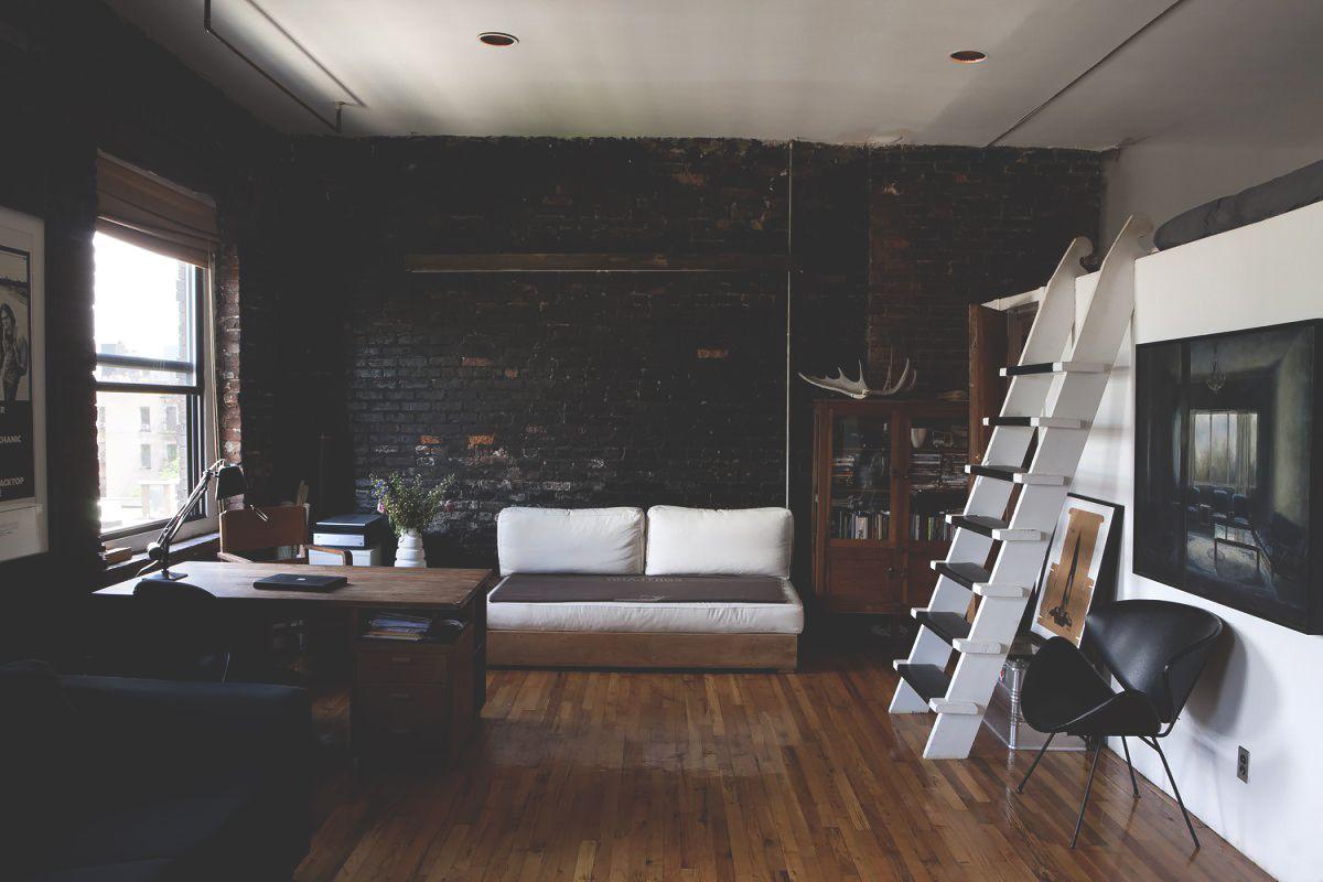"""urbnindustrial: """"Brick Loft in NY """""""