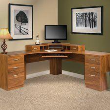 Lewisville Reversible Corner L Shape Executive Desk