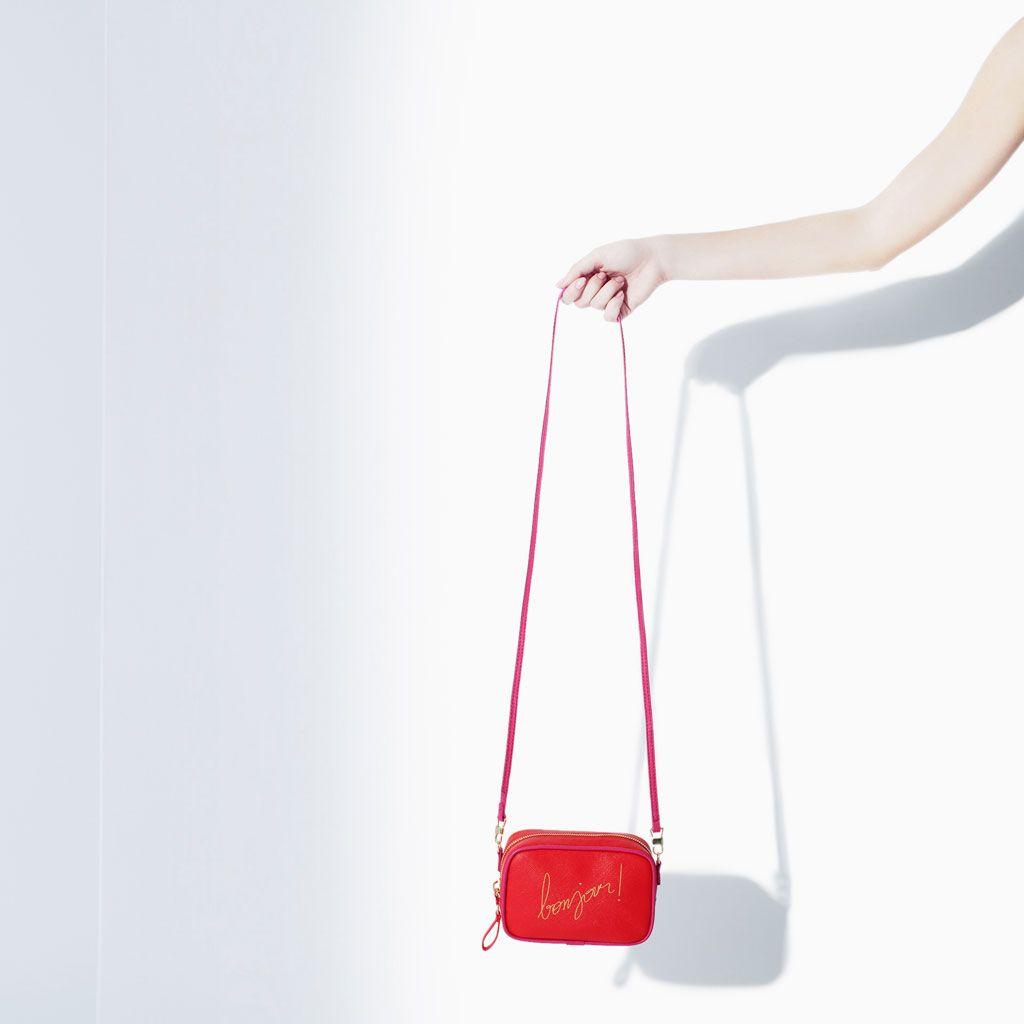Immagine 3 di BORSA MINI TRACOLLA BONJOUR di Zara