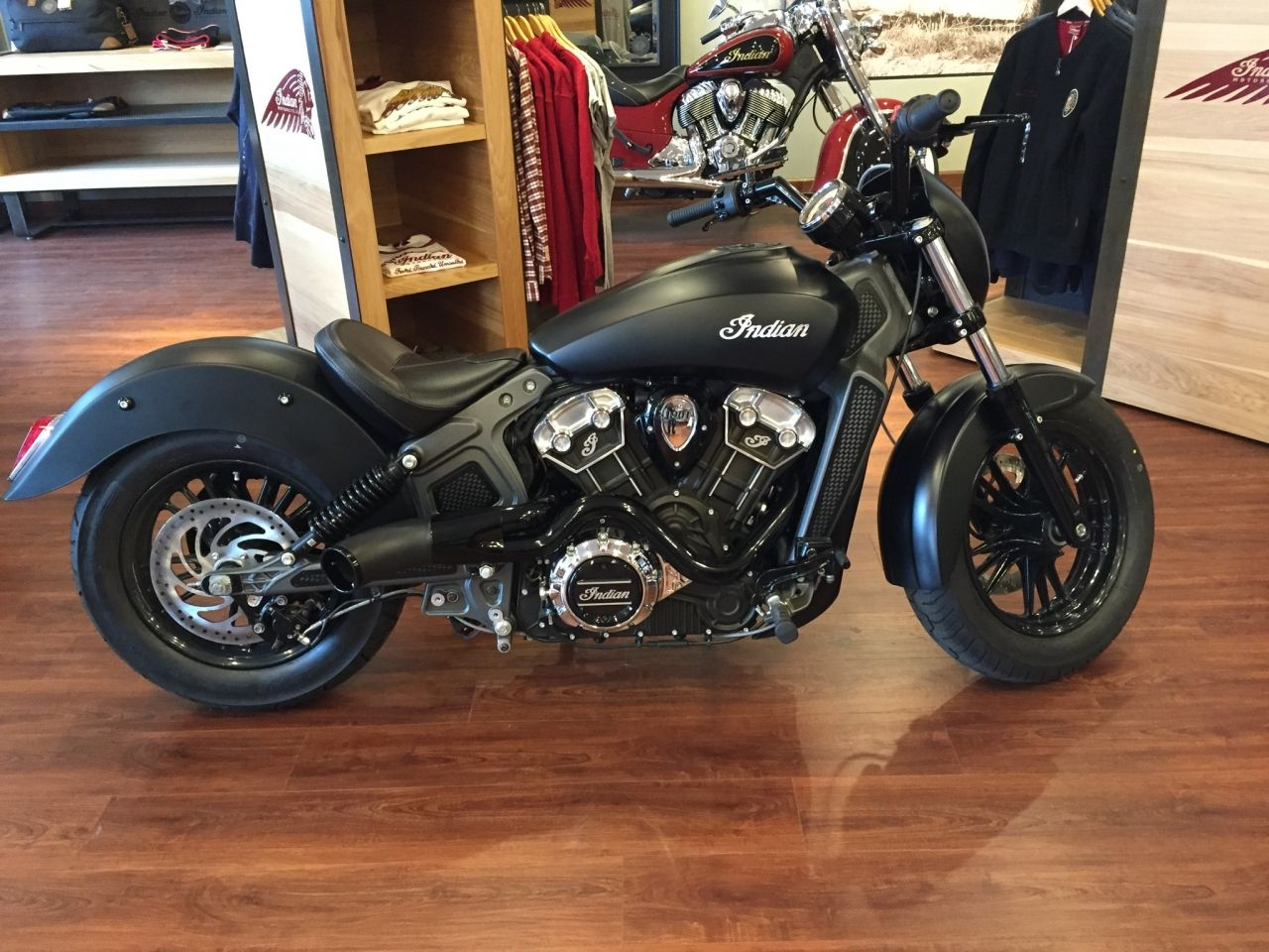Photo 4706 In The Al Custom Indian Scout By Integlvr