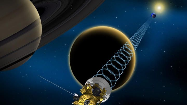 Success! Cassini flies by Titan, collects intel on ...