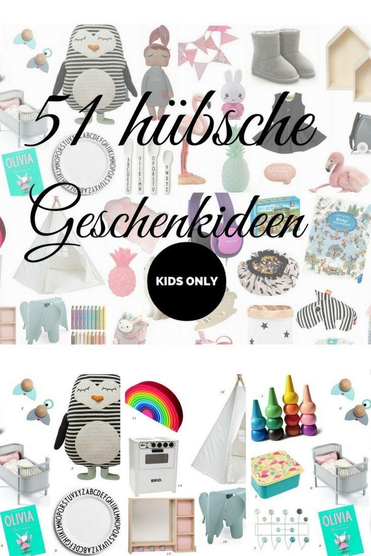 Geschenke für Kinder: 51 Geschenkideen für den Kindergeburtstag ...
