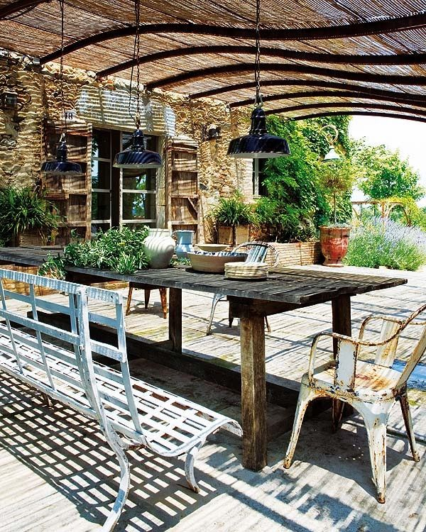 A place to eat and relax outside