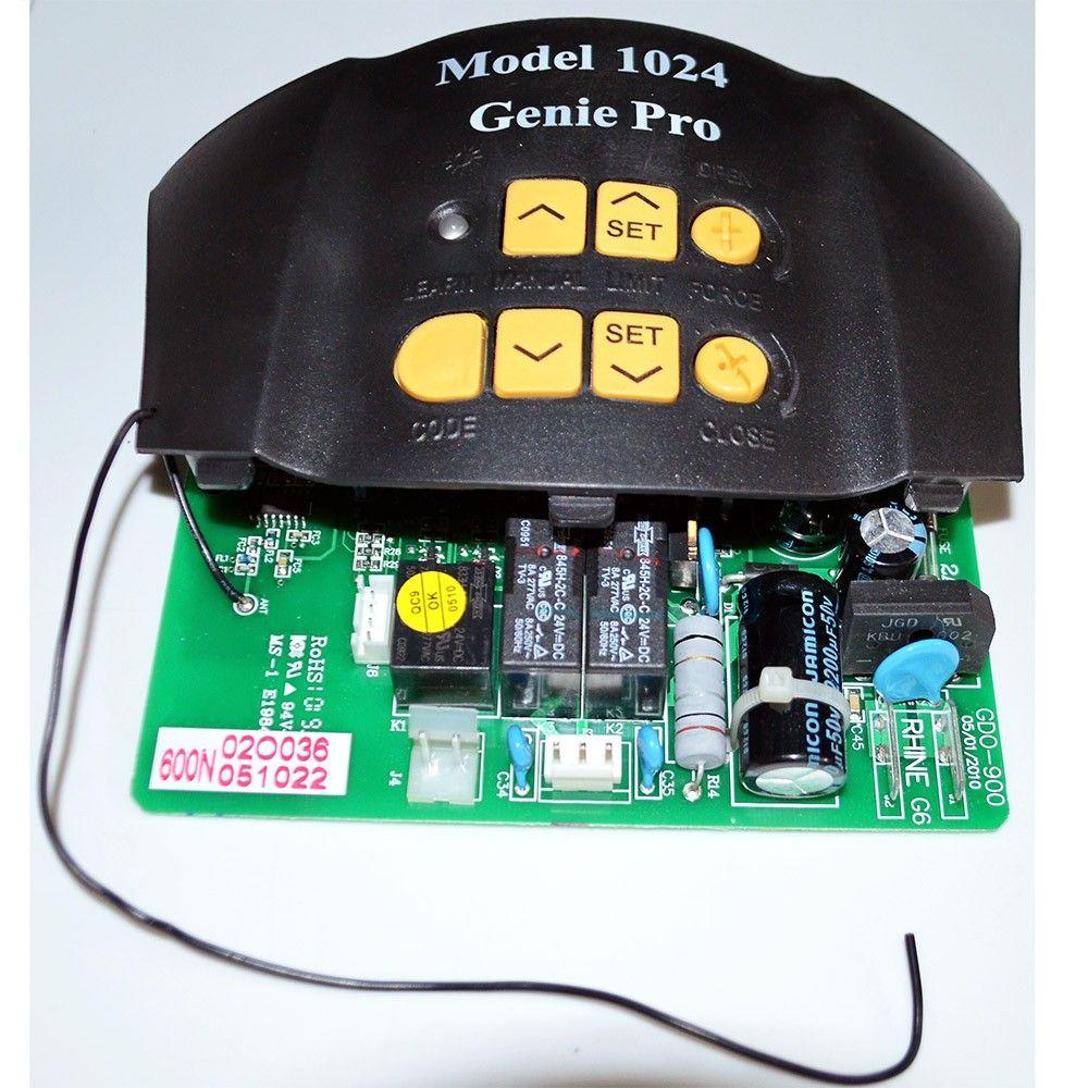 Genie 36448a S Reliag 600 1024 Garage Door Opener Control Board
