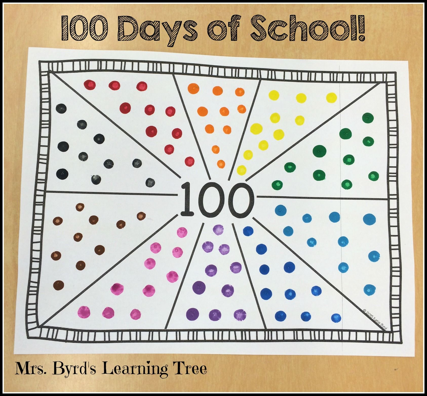 Print And Go 100 Days Math And Literacy No Prep