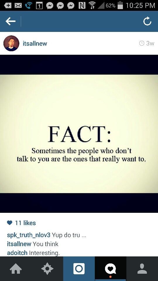 Fact, people, talk, really want to