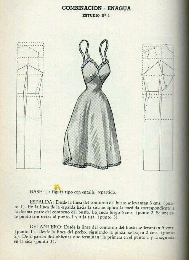 Vestidos 1950 | A| Modelagem Feminina | Pinterest | Vestiditos
