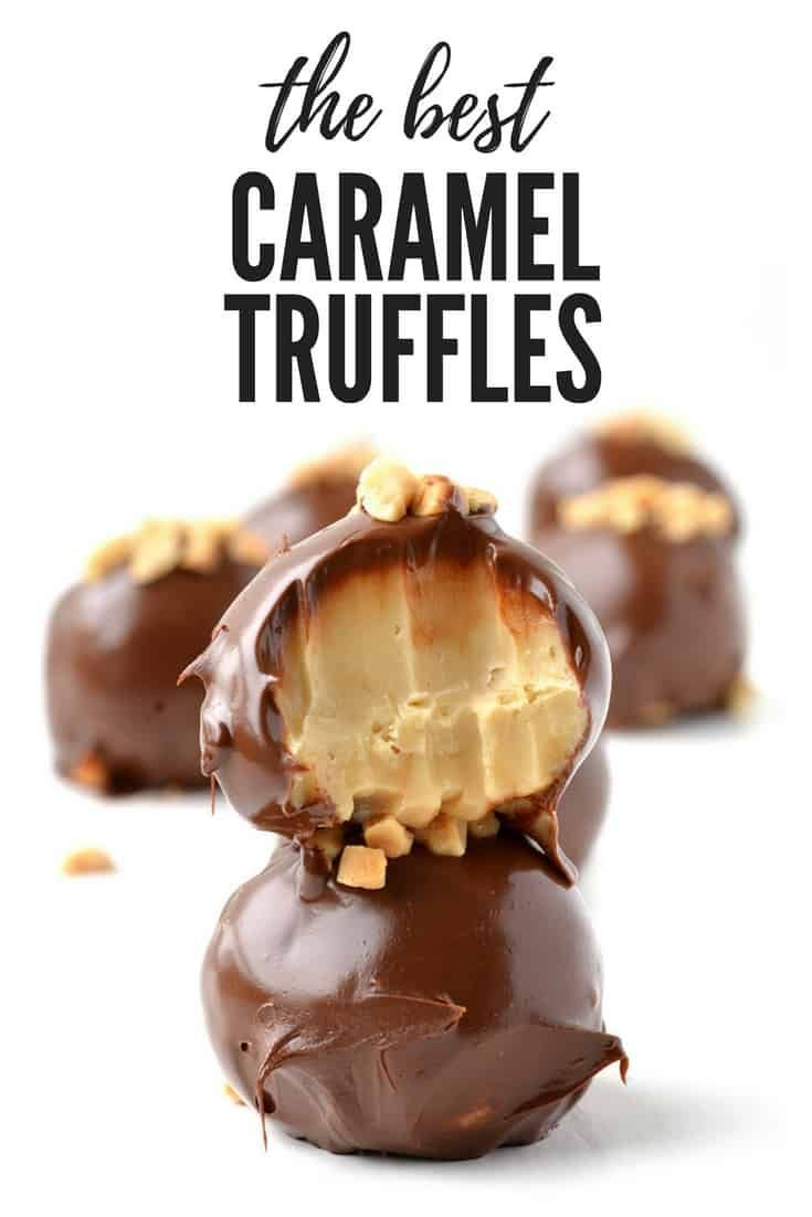The BEST Caramel Truffles made in the microwave! Recipe on BEST Caramel Truffles made in the microwave! Recipe on