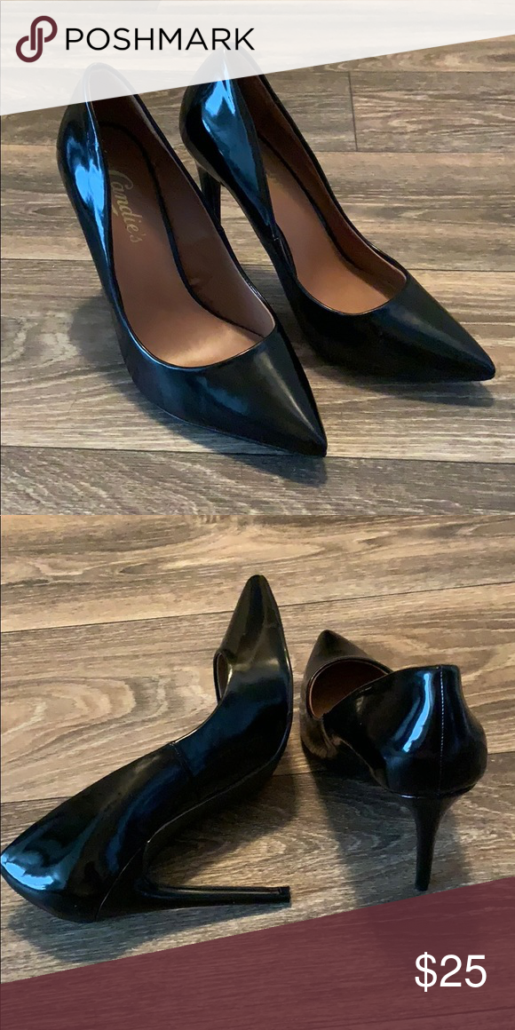 09ca38ae24b63d Patent Leather Heels Candie s patent leather heels