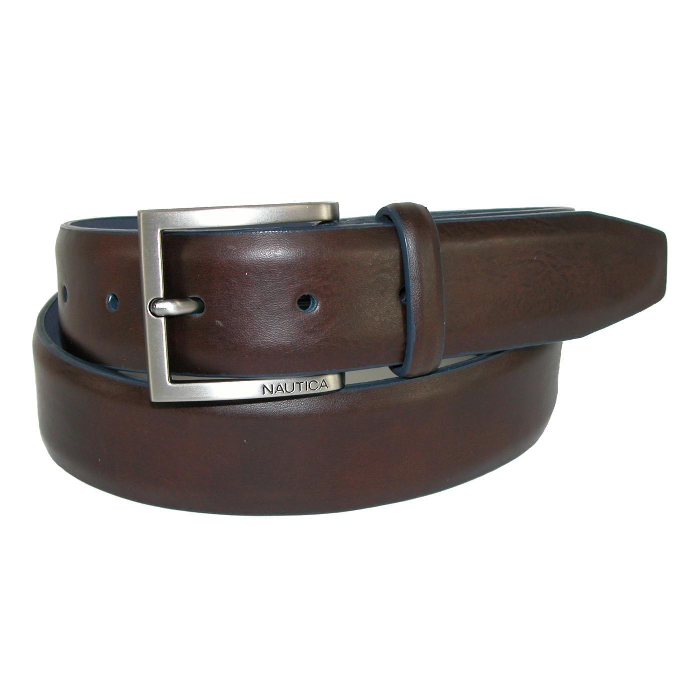 Dockers Men/'s Feather Edge 1 1//4 Inch Reversible Dress Belt