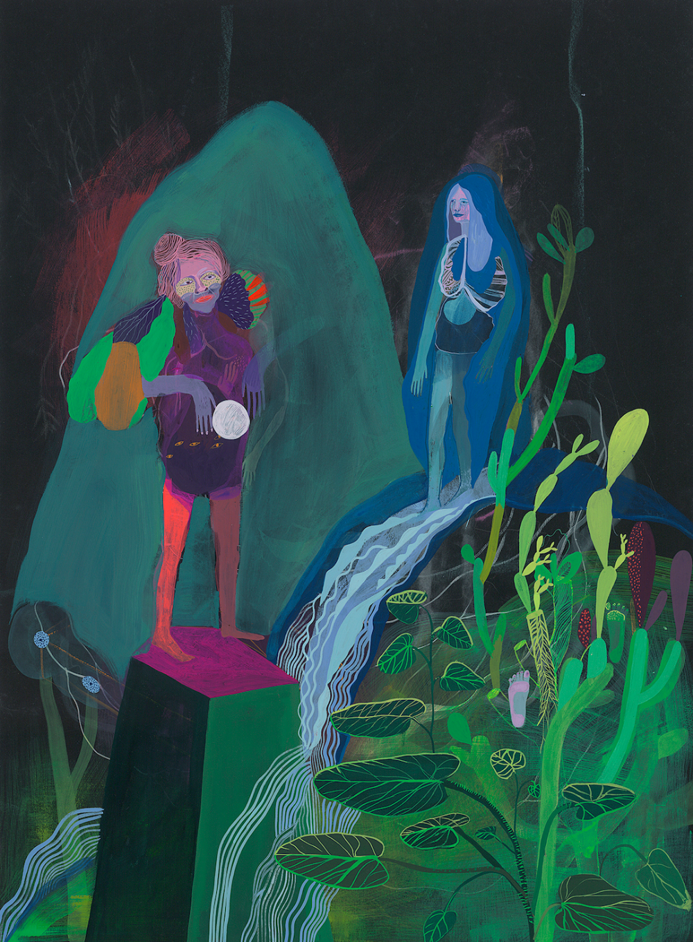 Betsy Walton Finds a Mindful Flow Through Colorful