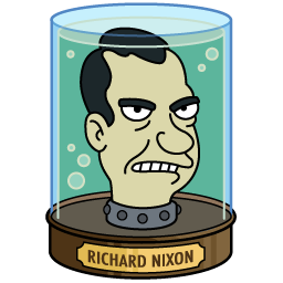 Image result for richard nixon futurama