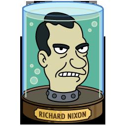 Nixon S Head Futurama Richard Nixon The Mindy Project