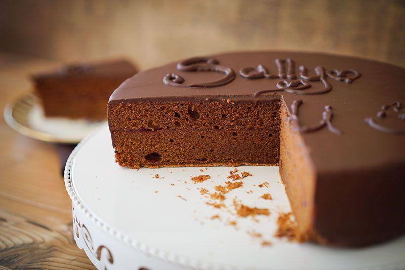 Sally S Recipes Sachertorte Sally Didi Bake Interspar 9